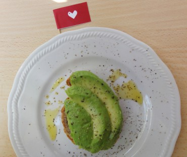 Crostino di avocado